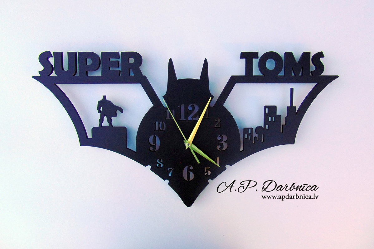 Super hero pulkstenis