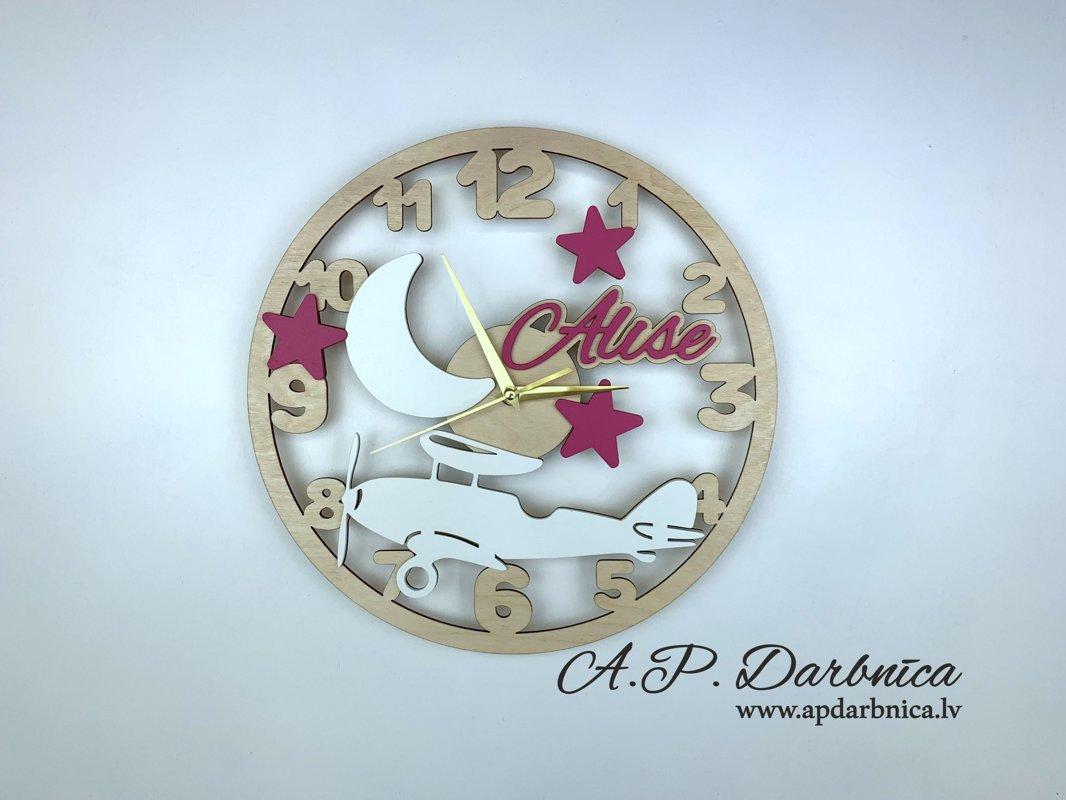 Pulkstenis ''Lidmašīna''