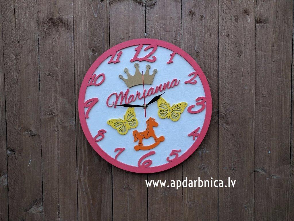 Pulkstenis ar vārdu (personalizēts)